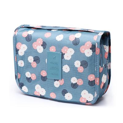 第九城(V.NINE)化妆包旅行出差旅游用品防泼水可悬挂便携洗漱包