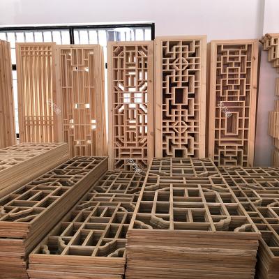 家具好货定做仿古窗实木中式花格镂空木花窗屏风隔断新款放心购