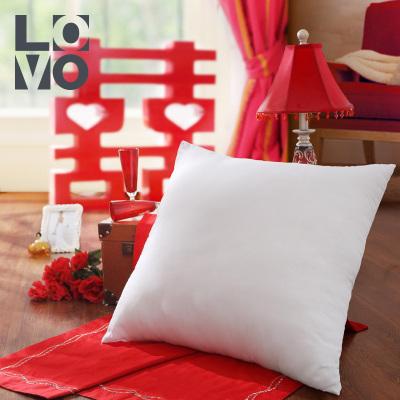 LOVO家紡羅萊生活出品純色沙發抱枕芯蓬松透氣床頭靠枕芯婚慶靠墊芯腰枕腰靠枕布藝