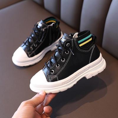 絳天女童馬丁靴時尚潮流兒童靴子2020新款夏季女孩單靴英倫風網紅中大童小短靴