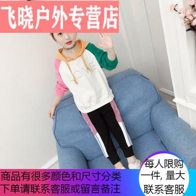 女童秋裝套裝2019新款洋氣4兒童5春秋季6小學生7女孩8運動服9歲潮