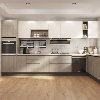 欧派橱柜整体厨房装修定做小户型现代简约橱柜整装定制蒙布朗塔15800元套餐