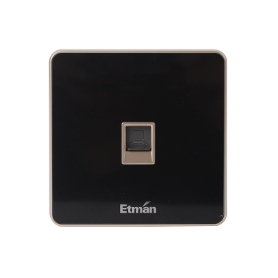 英特曼S3系列插座 單聯電腦插座 S3PC01-B