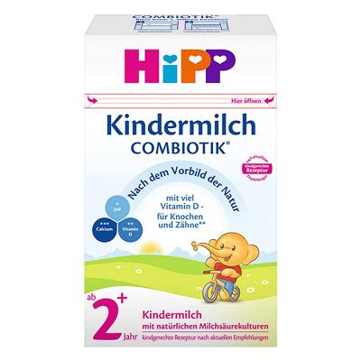 Hipp 德國喜寶 嬰幼兒配方奶粉 益生菌 2+段 600g/盒(2歲以上)21年7月
