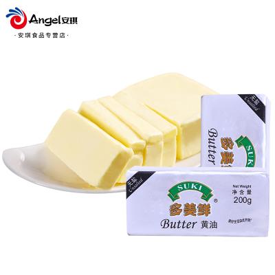 安琪 烘焙原料 多美鲜无盐黄油 烘焙牛油 动物奶油200克/块