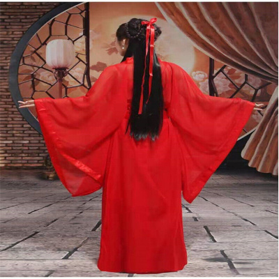 因樂思(YINLESI)新款白娘子服裝仙女氣質裙小龍女漢服女古裝改良齊胸襦裙演出服