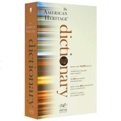 正版 美國傳統詞典第五版 英文原版英英字典 The American Heritage Dictionary 英文版