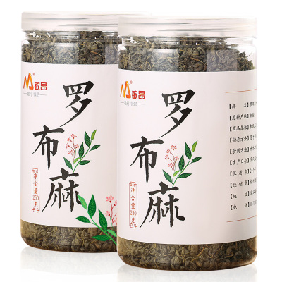 敏昂(M)新疆羅布麻 500克(250*2瓶)頭茬嫩葉