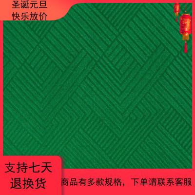 麻将机桌布 台面布 自带胶 正方形 加厚 绒面 绿色 麻将垫子桌布
