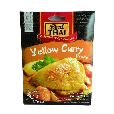 麗爾泰黃咖喱醬 50g 泰國進口泰國菜拌飯咖喱雞蝦牛咖喱蟹調味料