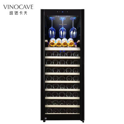 Vinocave/维诺卡夫 CWC-200A 压缩机恒温红酒柜 触摸式 进口榉木层架