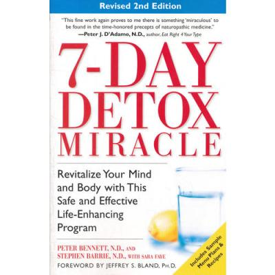 7-DAY DETOX REV 2ND(ISBN=9780761530978) 英文原版