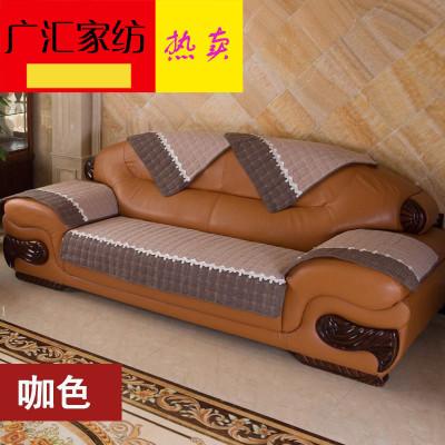 沙发垫套罩防滑四季通用亚麻1+2+3组合套装简约现代布艺坐垫