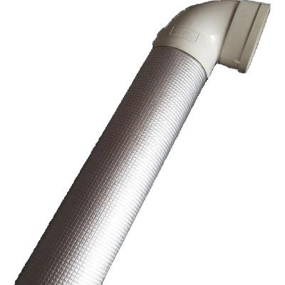 衛生間下水管道隔音棉自粘閃電客消音棉包管阻尼片阻燃754靜音 1CM厚50型隔音棉/米