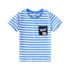 小猪班纳童装男童短袖T恤2019夏季童圆领短袖针织衫男童T恤