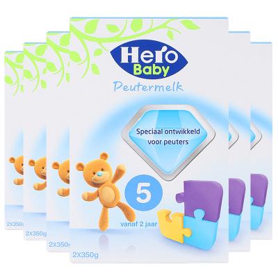6罐裝 | 荷蘭Hero Baby 嬰幼兒配方奶粉5段700g(2歲以上)