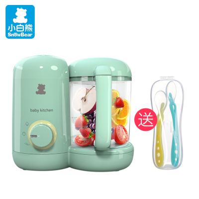 小白熊(Snow Bear)婴儿辅食机 宝宝辅食料理机送硅胶软勺HL-0973