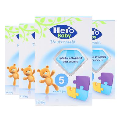 4盒裝|荷蘭Hero Baby 嬰幼兒配方奶粉5段700g(2歲以上)