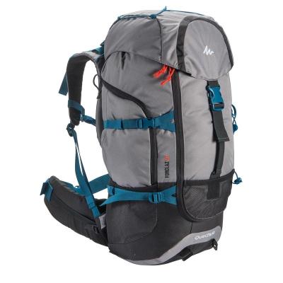 迪卡侬登山包户外双肩男女大容量越野休闲轻量旅行多功能背包FOR3
