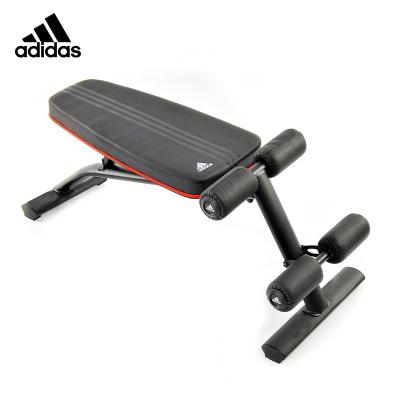 Adidas阿迪达斯多功能哑铃凳健身椅飞鸟凳健腹仰卧起坐板家用运动健身器材