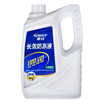 车仆长效防冻液4kg-15℃绿色