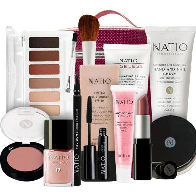 【彩妆套盒,一套搞定】NATIO娜迪奥澳宝七彩护肤彩妆套盒(12件套)轻薄妆容 一套搞定 澳洲进口