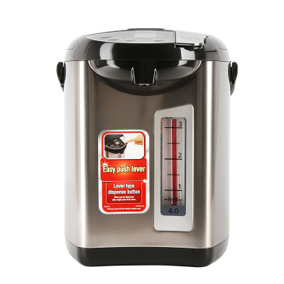TIGER/虎牌PDU-A40S电热水瓶日本进口防空烧保温一体家用烧水壶4L 电水瓶 电水壶4L