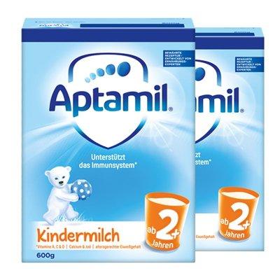 【两罐装】Aptamil原装进口德国爱他美奶粉2+段5段(2岁以上)600g盒装 新版