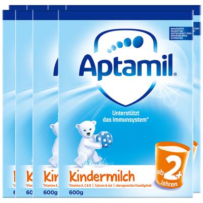 8罐装   德国爱他美儿童配方奶粉2+段纸盒装(两周岁及以上) 600g