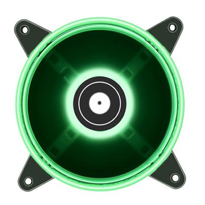 名龙堂(MLOONG)HD-120 台式电脑静音机箱LED炫酷环形 12CM机箱散热 LED绿色光圈风扇 风冷 机箱风扇