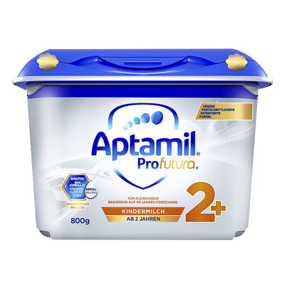 德国原装进口 Aptamil 爱他美白金版幼儿配方奶粉2+段(2岁以上)800g/罐