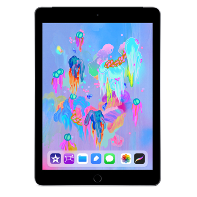 Apple iPad MP262CH/A 平板电脑 9.7英寸(128GB /WLAN + Cellular)深空灰色