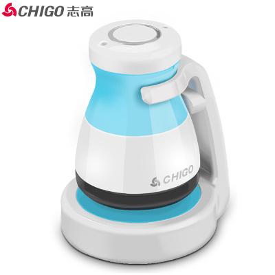志高(CHIGO)毛球修剪器ZG-M198 座充充电不锈钢刀网双重保护剃除毛球器蓝色