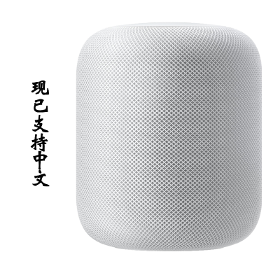 Apple HomePod 智能音箱 台式电脑音箱 苹果音箱 蓝牙音箱 白色 美版