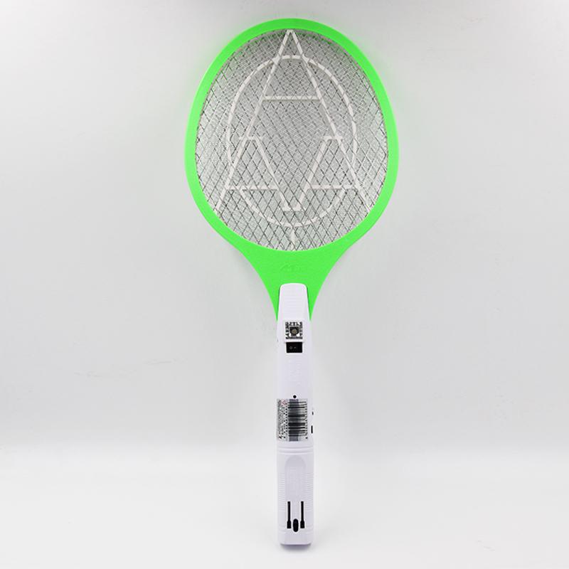 美美电蚊拍可充电式LED灯苍蝇拍大号网面电池灭蚊拍电蚊子拍