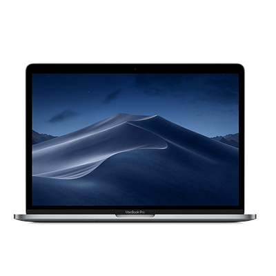 2018款 Apple MacBook Pro 15.4英寸 超极本 深空灰(2.2GHz 六核 Intel Core i7 16GB内存 256GB固态硬盘 MR932CH/A)