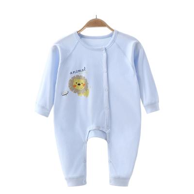亿婴儿 新生儿连体衣宝宝内衣爬服哈衣2134