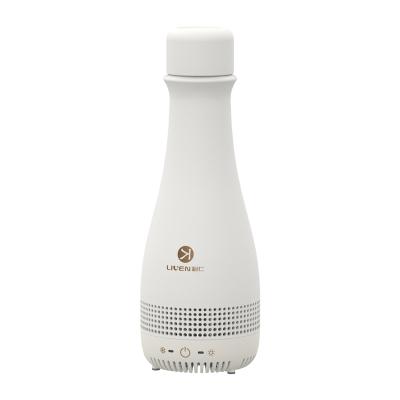 利仁制冷杯快速降温杯热水壶电水瓶冷饮机办公室便携冰镇速冷水杯保温壶抖音同款清凉神器C-18(米白色)