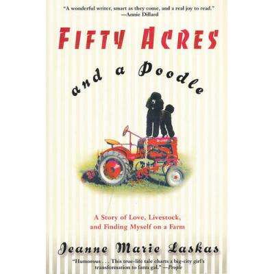 FIFTY ACRES AND A POODLE(ISBN=9780553380156) 英文原版