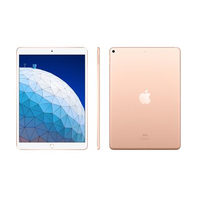 2019年新款Apple iPad Air 平板电脑 10.5英寸 256GB内存 4G插卡版+WiFi 金色