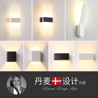 奥朵美式后现代床头灯壁灯个性创意客厅灯灯具楼梯简约卧室灯