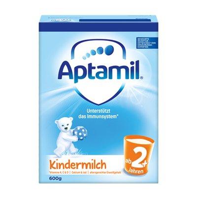 Aptamil原装进口德国爱他美2+段5段婴幼儿奶粉(2岁以上)600g盒装 新版