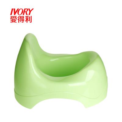 爱得利IVORY儿童坐便器加大号男女宝宝座便凳婴儿小孩便圈马桶幼儿尿盆/绿色