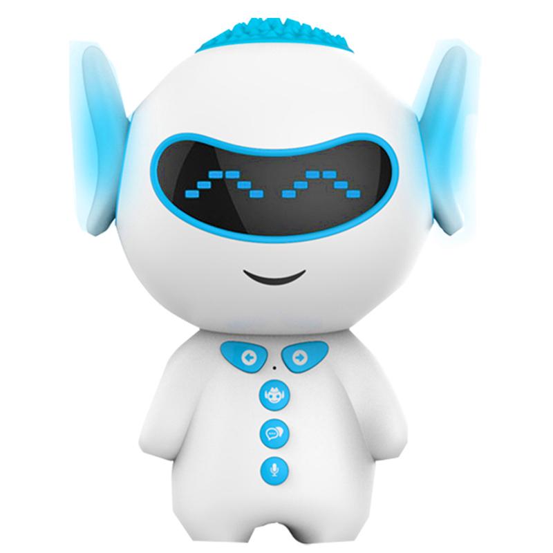 UVR智能早教智能机器人语音互动儿童学习wifi教育益智小U机器人PVC环保材质